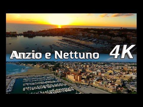 InFlight History 4K -  Anzio e Nettuno 4K (Roma) Drone 4K View