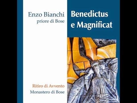 Enzo Bianchi Benedictus E Magnificat Edizioni Qiqajon Youtube