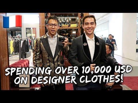 Spending Over $10,000 USD on Designer Fashion in Paris  Vlog #572 thumbnail