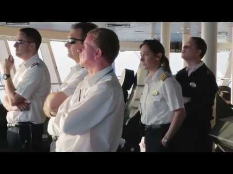Behind the Scenes with Captain Wendy Williams on Anthem of the Seas