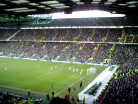 Celtic 1-1 Rangers 03/01/10 Lee McCulloch goal