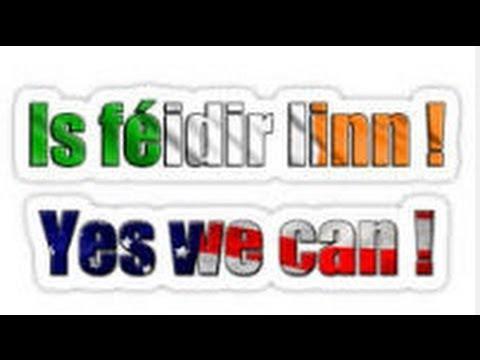 An Féidir linn? Can we?  Margaíocht & athbheochan na Gaeilge, revival of the Irish language,TG4,2013