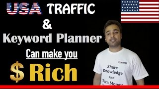 USA Traffic and Google Keyword Planner can make You RICH - YouTube SEO Tips and Tricks YTAdvise
