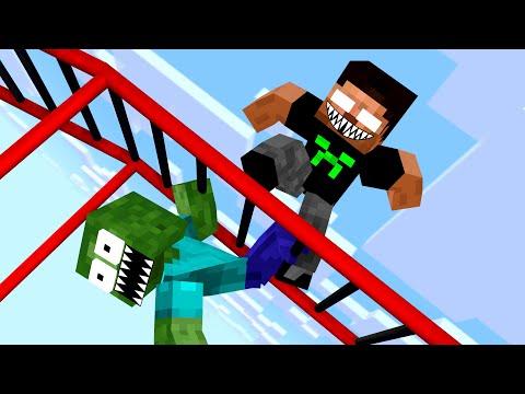 Monster School: Acrobatics - Funny Minecraft Animation