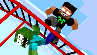 Monster School: Acrobatics - Funny Minecraft Animation