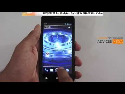 Lava Xolo Q800 First Boot-up - Apps Features Demo & OS Version