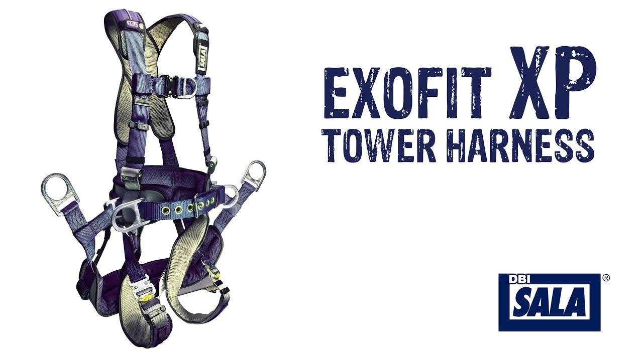 DBI Sala ExoFit XP Tower Climbing Harness - GME Supply