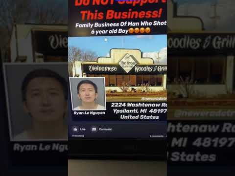 Family Business Of Asian Man Who Shot 6 Year Old Black Child.