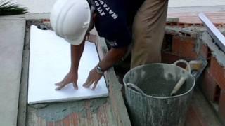 Aislamiento_bajo cubierta con placas de poliestireno extruído.vídeo nº 62wmv