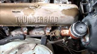 1964 Ford Thunderbird Engine Compartment Restoration