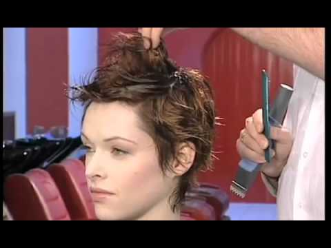 Hair Style Training : Dare Chisel Short Hair Style Training Video - YouTube