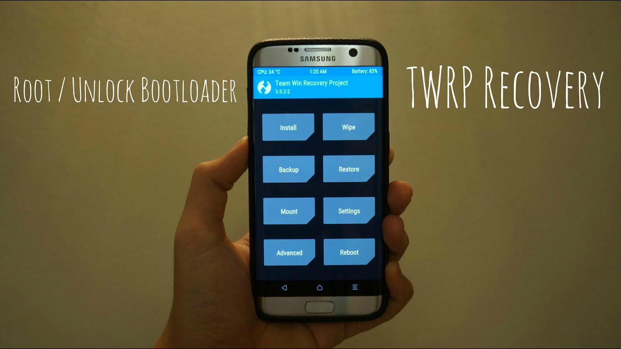 HOW TO ROOT/UNLOCK BOOTLOADER/INSTALL TWRP RECOVERY ON GALAXY S7 EDGE (EXYNOS SUPERSU TUTORIAL) - YouTube