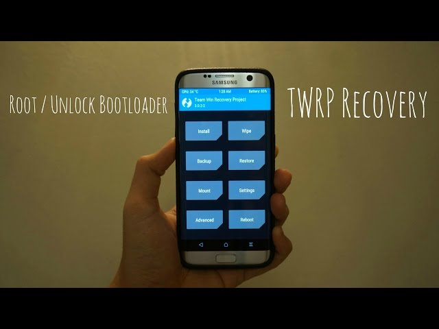 HOW TO ROOT/UNLOCK BOOTLOADER/INSTALL TWRP RECOVERY ON GALAXY S7