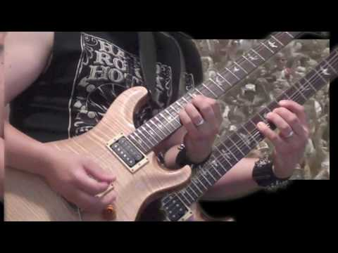 Quiet Riot - Metal Health (Bang Your Head) - cover song performed on guitar (in HD)
