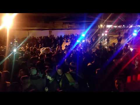 Richmond Tigers 2017 Grand Final Celebrations pt2, Swan Street Bridge 12.30AM