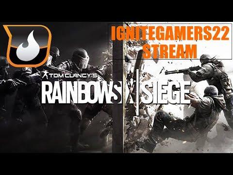 Ignition Stream Tuesday!   Rainbow Six Siege   For the Win! W/ Ashley, Brandon, Cody, & Jake