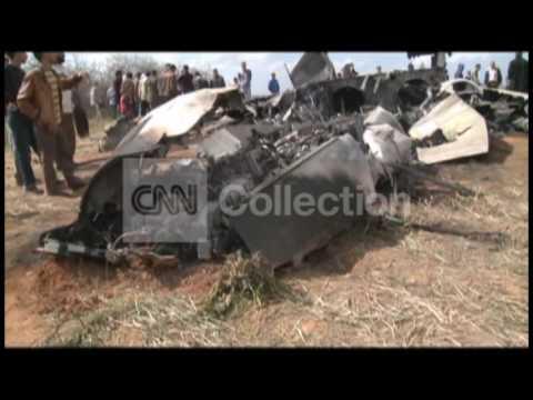 LIBYA US JET CRASH