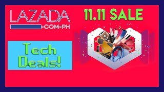 Lazada 11.11 Sale Tech Deals! (11/11/2018)
