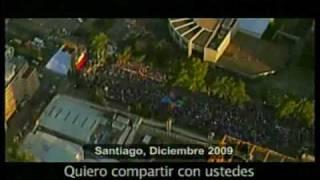 Franja Electoral Presidencial, Segunda Vuelta 2010 - Sebastian Piñera