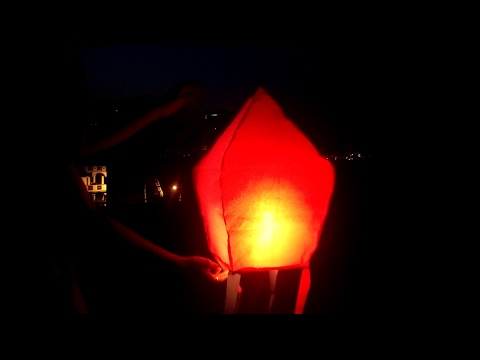 How To Make  Sky Lantern | DIY Hot Air Balloon