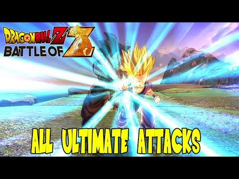 Dragon Ball Z: Battle of Z - All Ultimate Attacks (Ultimate Jewel Specials)