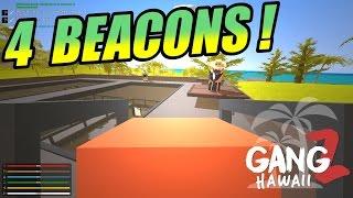 Unturned GangZ Hawaii - S5E4 - 4 Horde Beacons!?!?!
