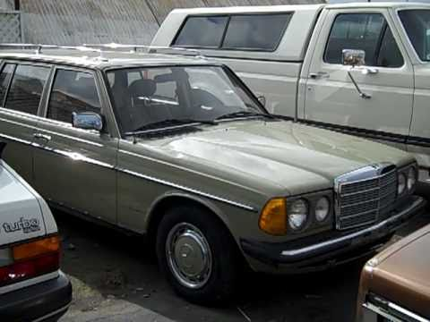 83 Mercedes 300TD W123 Wagon EURO model 4 Speed RARE