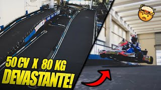 JUMPING with a 125 KZ kart? DONE! (GONE BAD BECAUSE OF...)
