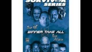 Official Theme Song Survivor Series 2001