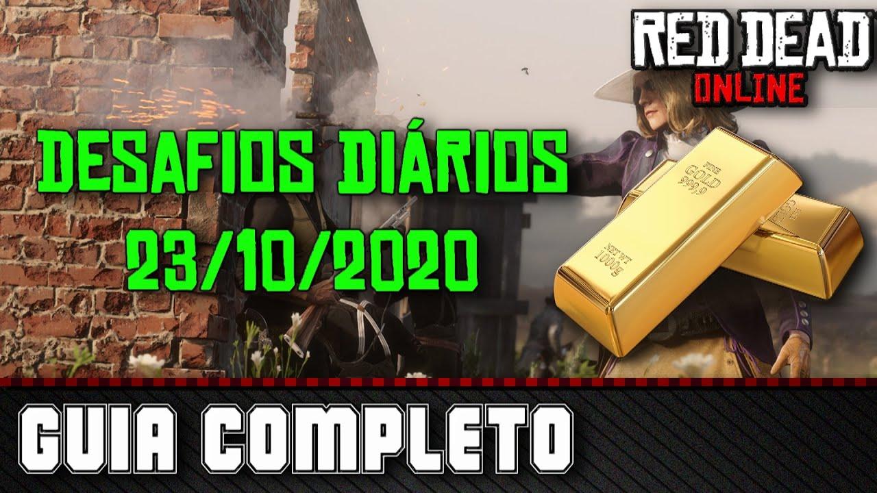 Desafios Diários - Red Dead Online 23/10/2020