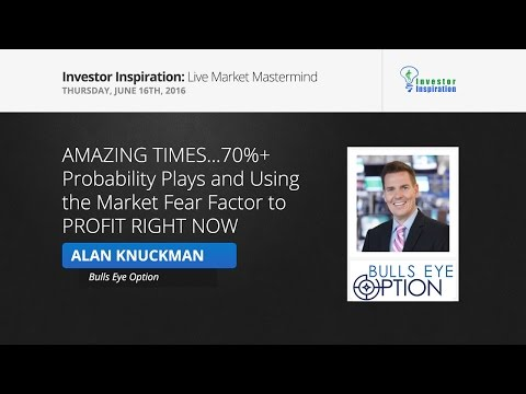 70%+ Probability Plays and Using the Market Fear Factor to PROFIT RIGHT NOW | Alan Knuckman