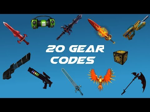 20 Gear Codes On Roblox Youtube