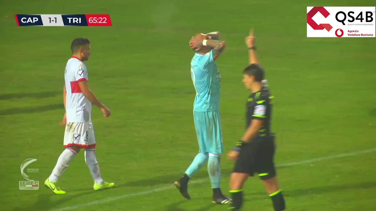 Carpi-Triestina 2-2, gli highlights