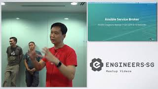 Ansible Service Broker & What's coming in Ansible Engine 2.5? - Ansible Singapore