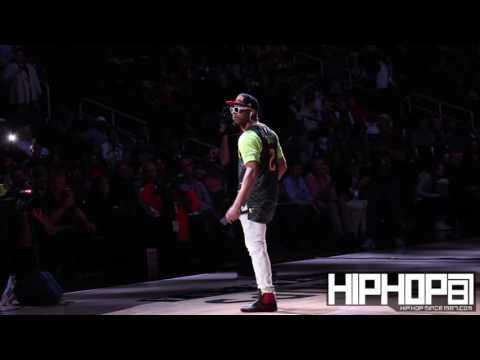 DJ Jelly, Kilo Ali & Fabo Perform at Halftime of the Hornets vs. Hawks Game (12-17-16)