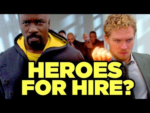 HEROES FOR HIRE? Luke Cage And Iron Fist Saved By Disney Streaming? (New Show Theories) #NerdTalk