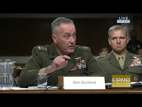Graham Seeks Answers from Sec. Carter and Gen. Dunford on U.S. Military Policy in Syria