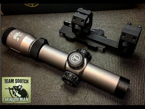 Leupold VX-R Patrol 1.25 4X Scope Review