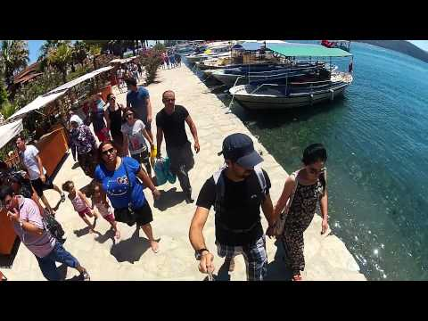 GoPro HD Hero2  chalet holiday / Akyaka beach