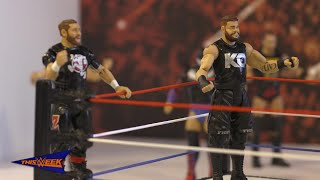 WWE Network: Go behind the scenes of Kevin Owens & Sami Zayn's Mattel commercial shoot