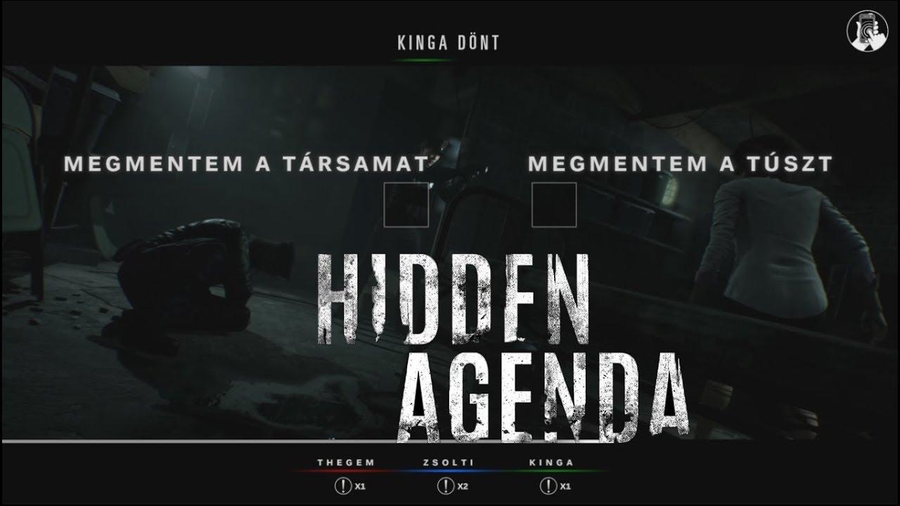 Létezik ilyen??? Magyar szinkron és felirat! - Hidden Agenda #1 ...