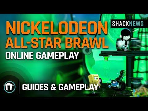 Nickelodeon All-Star Brawl - Online Gameplay