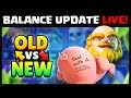 Balance Update 10 1 OLD Vs New Comparison Clash Royale October Update mp3