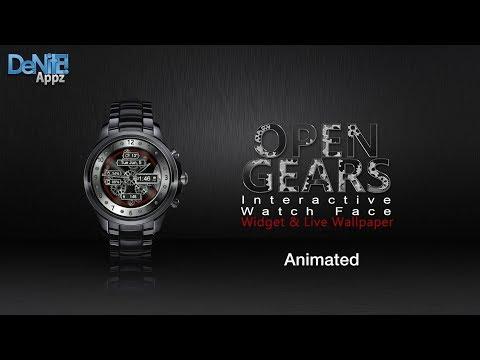 Open Gears HD Watch Face Widget & Live Wallpaper