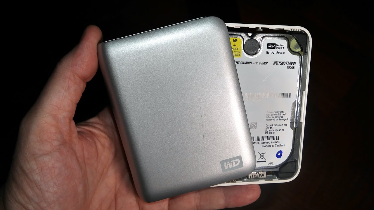 Open WD My Passport HDD - Old & New Styles