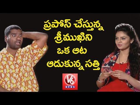 Bithiri Sathi  Funny Task To Anchor Srimukhi || Funny Chit Chat || V6 News