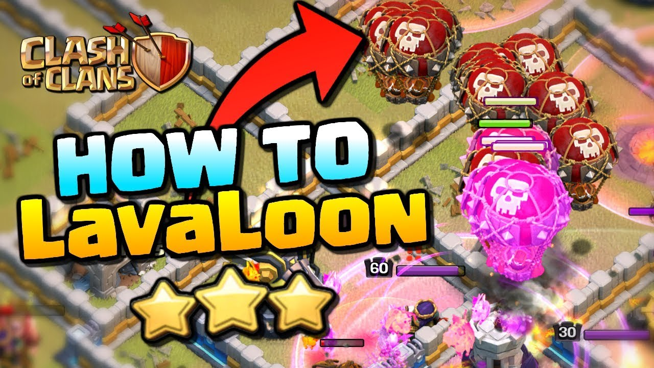 LEARN from the BEST | How to LavaLoon Attack Strategy | Clash of Clans