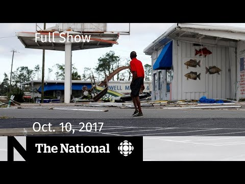 The National for Wednesday October 10, 2018 — Hurricane Michael, Forgotten Rohingya, Jean Chretien
