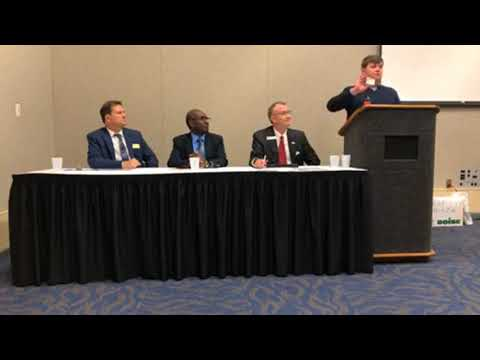 Careers in Agriculture at the Arkansas Counselor's Association's Annual Conference