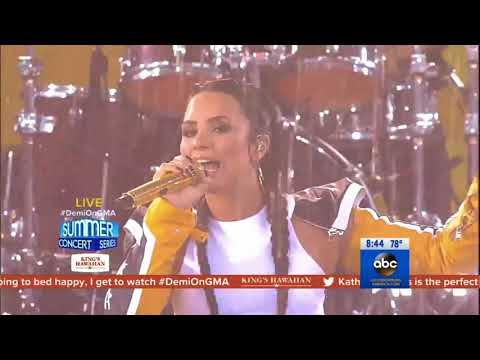 Demi Lovato - Sorry Not Sorry (Live on...